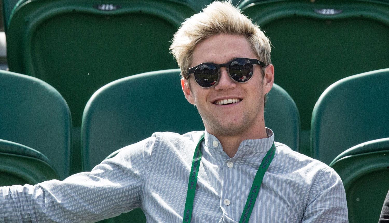 Niall Horan Attends Wimbledon After Getting a Haircut