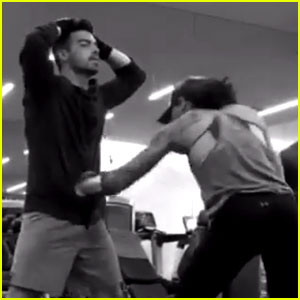 Joe Jonas Gets Punched Around by Boxing Champ Ava Knight!