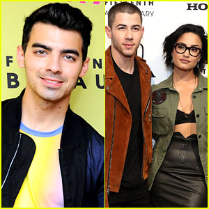 Joe Jonas Talks Nick Jonas, Demi Lovato & Their Close Bond
