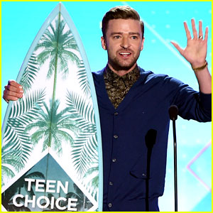 Justin Timberlake Accepts Decade Award at Teen Choice Awards 2016 - Watch Now!