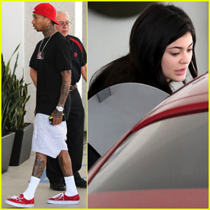 Kylie Jenner & Tyga Hang Out After Calling Him Her Husband
