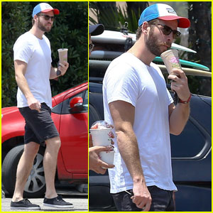 Liam Hemsworth Hangs With a Pal After Celebrating the Fourth With Miley Cyrus