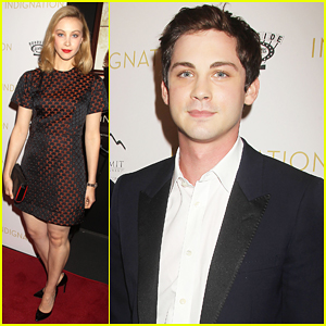Logan Lerman & Sarah Gadon Team Up For 'Indignation' In NYC - Watch New Clip!