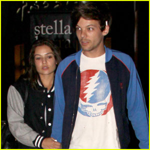 Louis Tomlinson & Danielle Campbell Step Out for a Movie Date