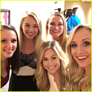 Nastia Liukin Gathers 2008 Gymnastics Olympic Team For Reunion Selfie at Trials