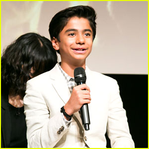 Neel Sethi Premieres 'Jungle Book' in Japan