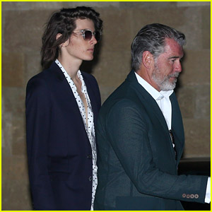 Dylan Brosnan Looks Suave for July 4th Party with Dad Pierce!