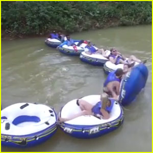 R5 Go Tubing & Ziplining Ahead Of Jamaican Concert - Watch The Fun Vid!