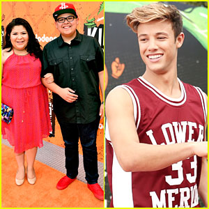 Raini & Rico Rodriguez Join Cameron Dallas at Kids Choice Sports Awards 2016