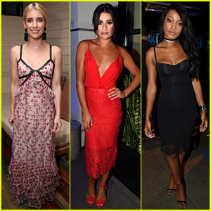 Emma Roberts, Lea Michele, & Keke Palmer Join 'Scream Queens' Cast at Comic-Con Party