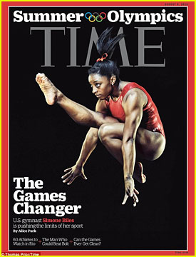 Simone Biles Gets Praise From Past Olympic Gymnasts in 'Time' Cover Story