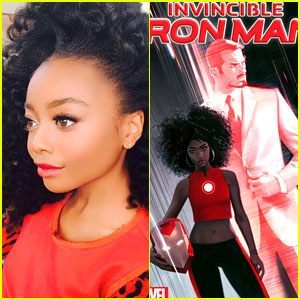 Skai Jackson Inspired New Black Iron Man Riri Williams, Co-Creator Says