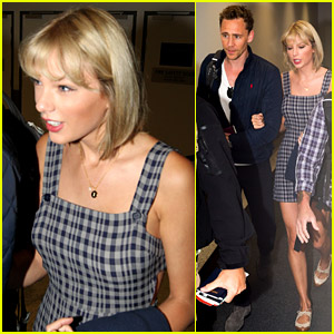 Taylor Swift Flies to Australia with Tom Hiddleston!