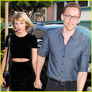 Taylor Swift Holds Hands with Tom Hiddleston for Santa Monica Date Night!