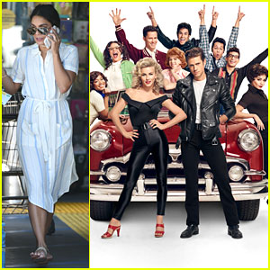 Vanessa Hudgens Picks Up Groceries After 'Grease Live' Scores 10 Emmy Noms!