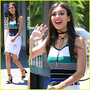 Victoria Justice Teases Her Teen Choice Awards Look