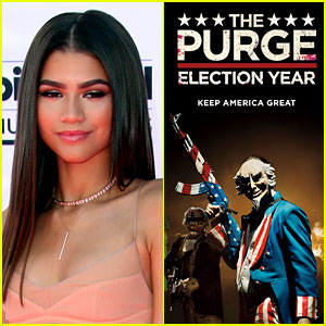 Zendaya Shuts Down Fan Asking Followers if They'd Rape Her in 'The Purge'