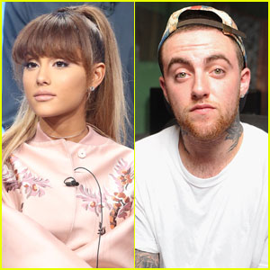Ariana Grande Kisses Mac Miller in New Pics!