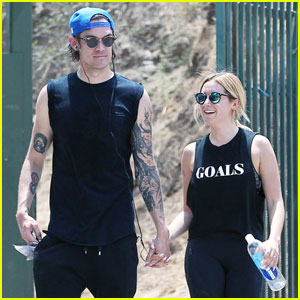 Ashley Tisdale & Christopher French Enjoy Runyon Canyon Hike