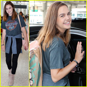Bailee Madison Jets Off to Toronto for 'Good Witch' Filming