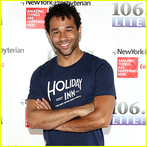 Corbin Bleu Gives Sneak Peek of New Broadway Play 'Holiday Inn' in NYC