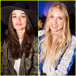Crystal Reed & Veronica Dunne Watch 'Poltergeist' with Cinespia!