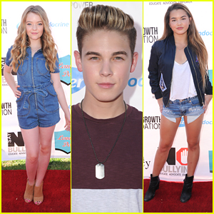 Jade Pettyjohn, Ricardo Hurtado & Paris Berelc Say No To Bullying in Los Angeles