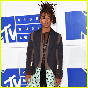 Jaden Smith Steps Up His Style Game at MTV VMAs 2016