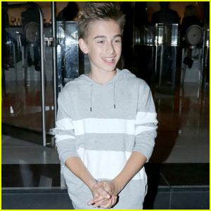 Singer Johnny Orlando Hits Up Hollywood Hot Spot for Dinner