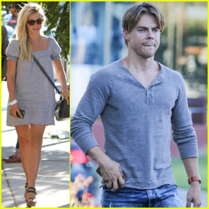 Derek Hough Reflects Back on His Olympian 'DWTS' Partners!