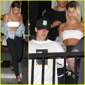 Justin Bieber Helps Sofia Richie Ring in 18!