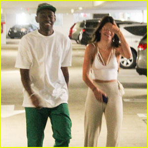Kendall Jenner Steps Out for Cheesecake Factory Dinner With Tyler the Creator