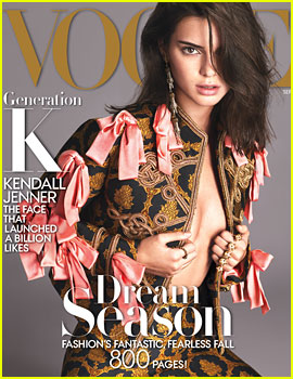 Kendall Jenner Covers 'Vogue' September 2016