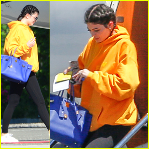 Kylie Jenner Flies Back To LA After Turks & Caicos Birthday Getaway