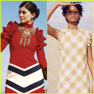 Kylie Jenner & Willow Smith Take on Fall Fashion in 'Vogue'