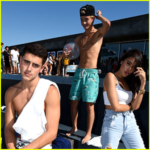 Jack & Jack Go Shirtless at Just Jared & Uno's Summer Bash with Madison Beer!