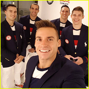 US Men's Gymnastics Team Shares Inspiring Message Before Olympic Competition Today