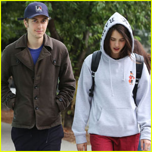 Nat Wolff & Margaret Qualley Hang Out in Vancouver