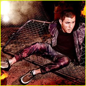 Nick Jonas Looks So Hot in New Creative Recreation Campaign Photos!