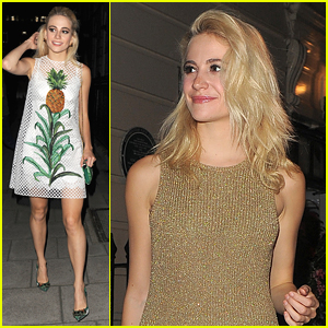 Pixie Lott's Pineapple Dress Has Us Dreaming Of A Tropical Getaway