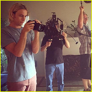 Riker Lynch Shares New Pic from New Movie 'Voyeur aka Bryan'