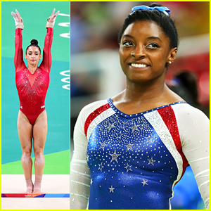 Simone Biles Wins All-Around Gold Medal; Aly Raisman Grabs Silver in Rio!