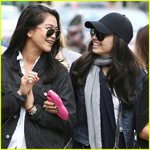 Sofia Carson & Dianne Doan Lunch Out Together in Vancouver