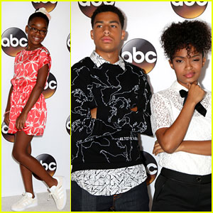 Yara Shahidi & Marcus Scribner Welcome Mason Cook To The ABC Shows Family