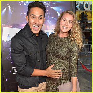 Pregnant Alexa PenaVega & Husband Carlos Hit Up 'Hillsong' Premiere in LA