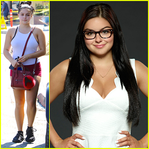 Ariel Winter Gets A Workout In Ahead of 'Modern Family's Season Eight Premiere Next Week