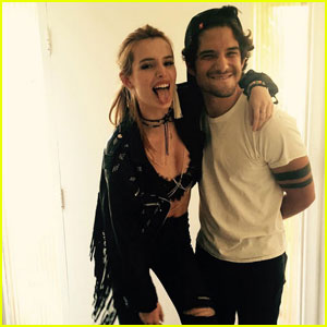Bella Thorne & Tyler Posey Are a Punk Rock Couple!