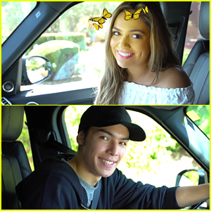 Bethany Mota Has A Snapchat Date with Ryan Potter (Video)