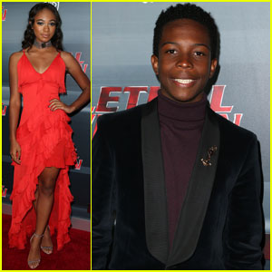 Chandler Kinney & Dante Brown Premiere 'Lethal Weapon' in Los Angeles