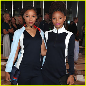 Chloe x Halle Pair Up for Tory Burch NYFW Presentation